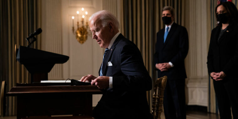 Technology New Biden executive order makes science, evidence central to policy