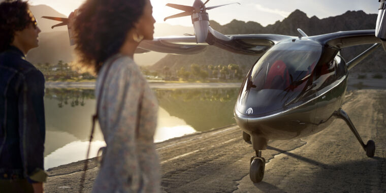 Technology United Airlines orders 200 vertical-takeoff electric airplanes