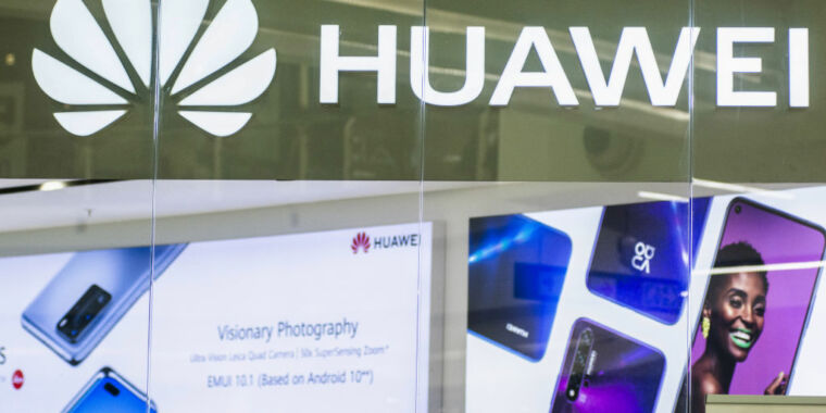 Technology Huawei tells Biden administration it's not a security threat, files lawsuit