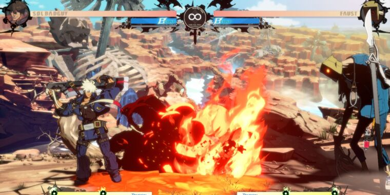 Technology How Guilty Gear saved its online play in a post-offline world