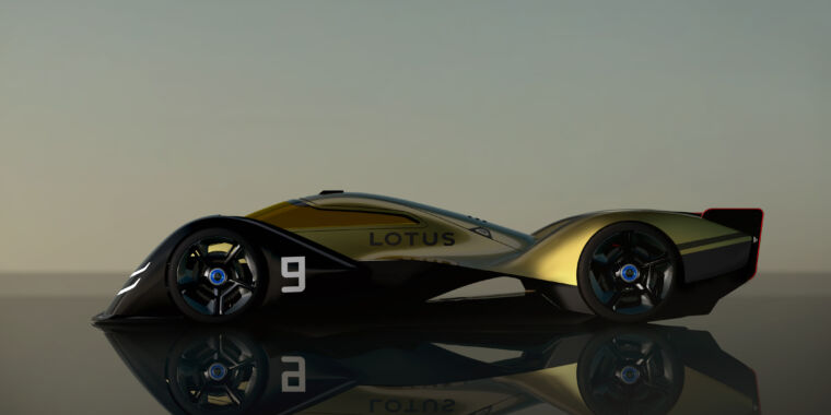 Technology Morphing bodywork among Lotus' ideas for a future electric race car