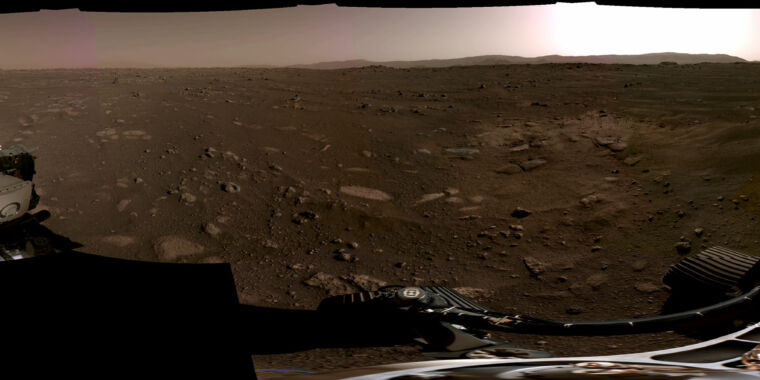Technology Humans had never seen a spacecraft land on another planet—until now