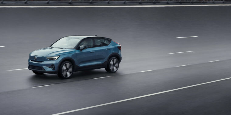 Technology Volvo's next EV is this C40 Recharge fastback crossover