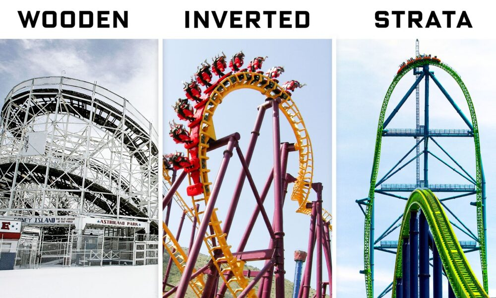 Cryptocurrency  Bitcoin Engineer Explains Every Roller Coaster For Every Thrill