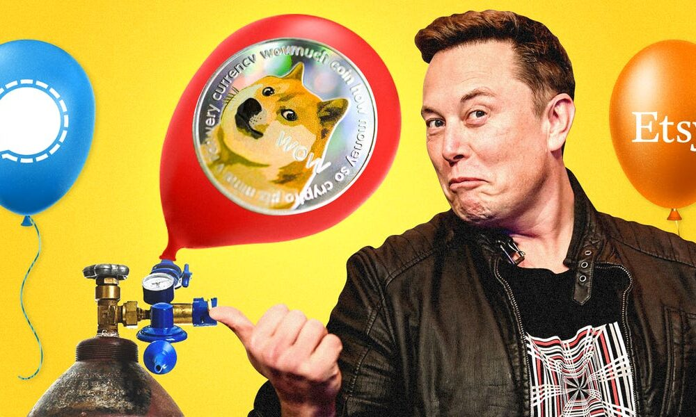 Stock Market Elon Musk is pumping stocks, cryptocurrencies and the energy of 49 million loyal followers to dizzying heights.What could go wrong?