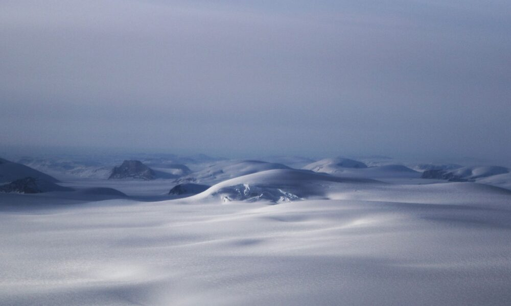 Cryptocurrency  Bitcoin Fossils in a Forgotten Ice Core Rewrite Greenland's Icy Past