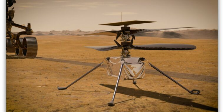 Technology NASA lays out plans for its first flights on Mars