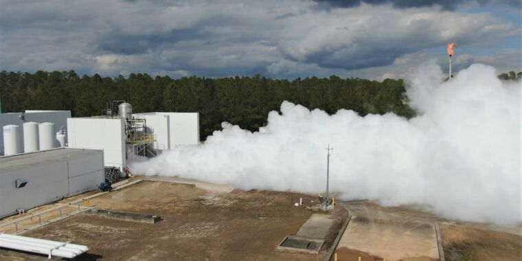 Technology Relativity Space printed its Terran 1 rocket's second stage in a few weeks