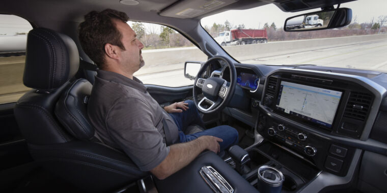 Technology Ford's hands-free answer to GM's Super Cruise is called BlueCruise