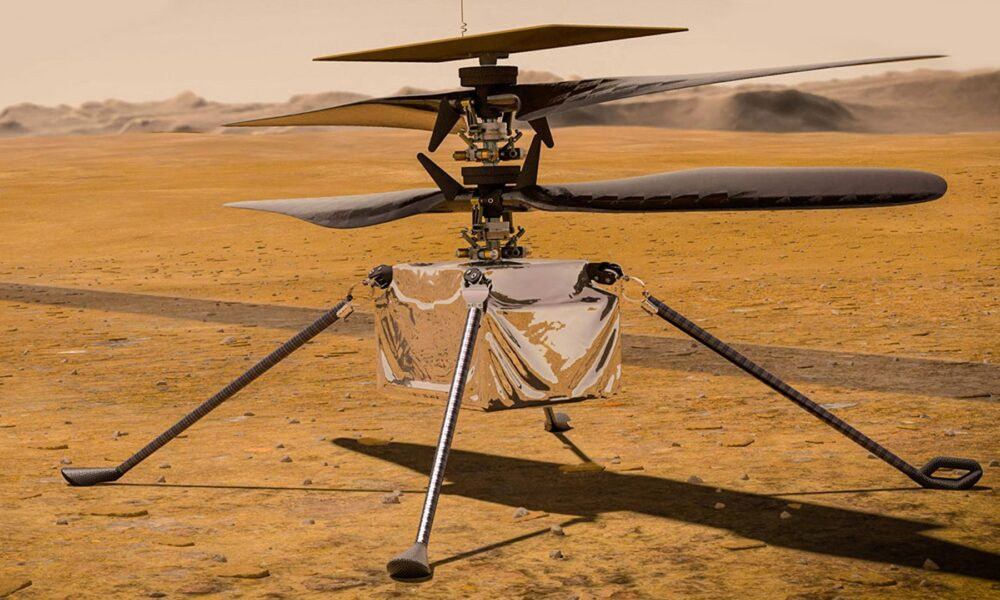 Cryptocurrency  Bitcoin Why NASA Made a Helicopter for Mars