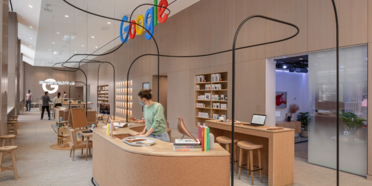 Technology Here's what's inside Google's first-ever retail store