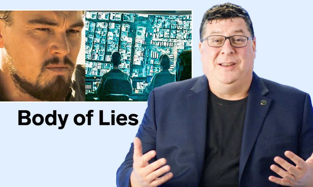 Cryptocurrency  Bitcoin Technique Critique – Former Army Intel Director Breaks Down Spy Satellite Scenes From Movies & TV