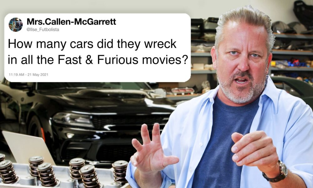 Cryptocurrency  Bitcoin Tech Support – Fast & Furious Car Expert Answers Car Questions From Twitter
