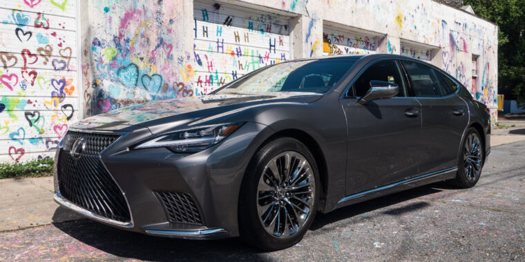 Technology The Lexus LS500 is beautifully crafted, but some tech shows its age