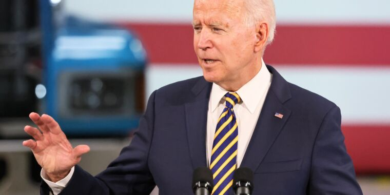 """Technology Biden: ISPs that take gov't funding will have to offer """"low-cost"""" plans"""