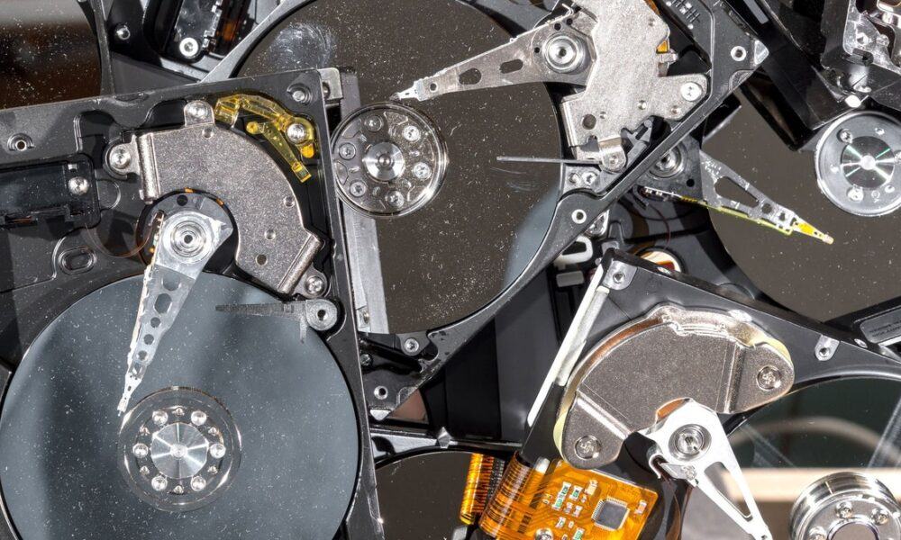 Cryptocurrency  Bitcoin Can You Recycle a Hard Drive? Google Is Trying to Find Out