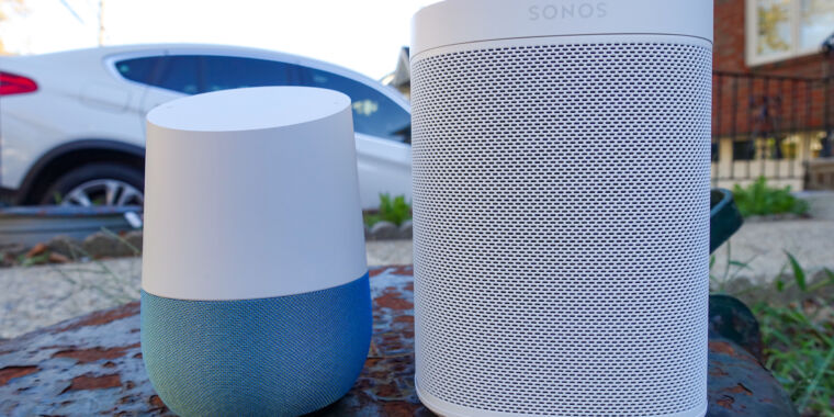 Technology Google smart speakers infringe on Sonos patents, preliminary ITC ruling says