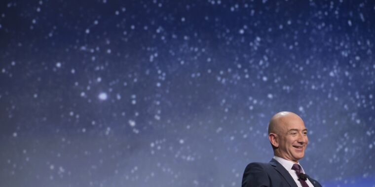 Technology Amazon asked FCC to reject Starlink plan because it can't compete, SpaceX says