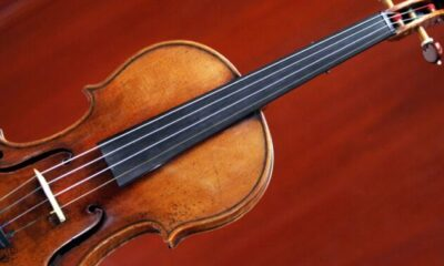 Technology Study confirms superior sound of a Stradivari is due to the varnish