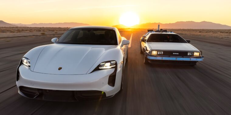 Technology Porsche celebrates 1.21 GW of charging capacity in the US and Europe