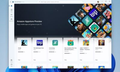 Technology Amazon's Android apps come to the latest Windows 11 beta